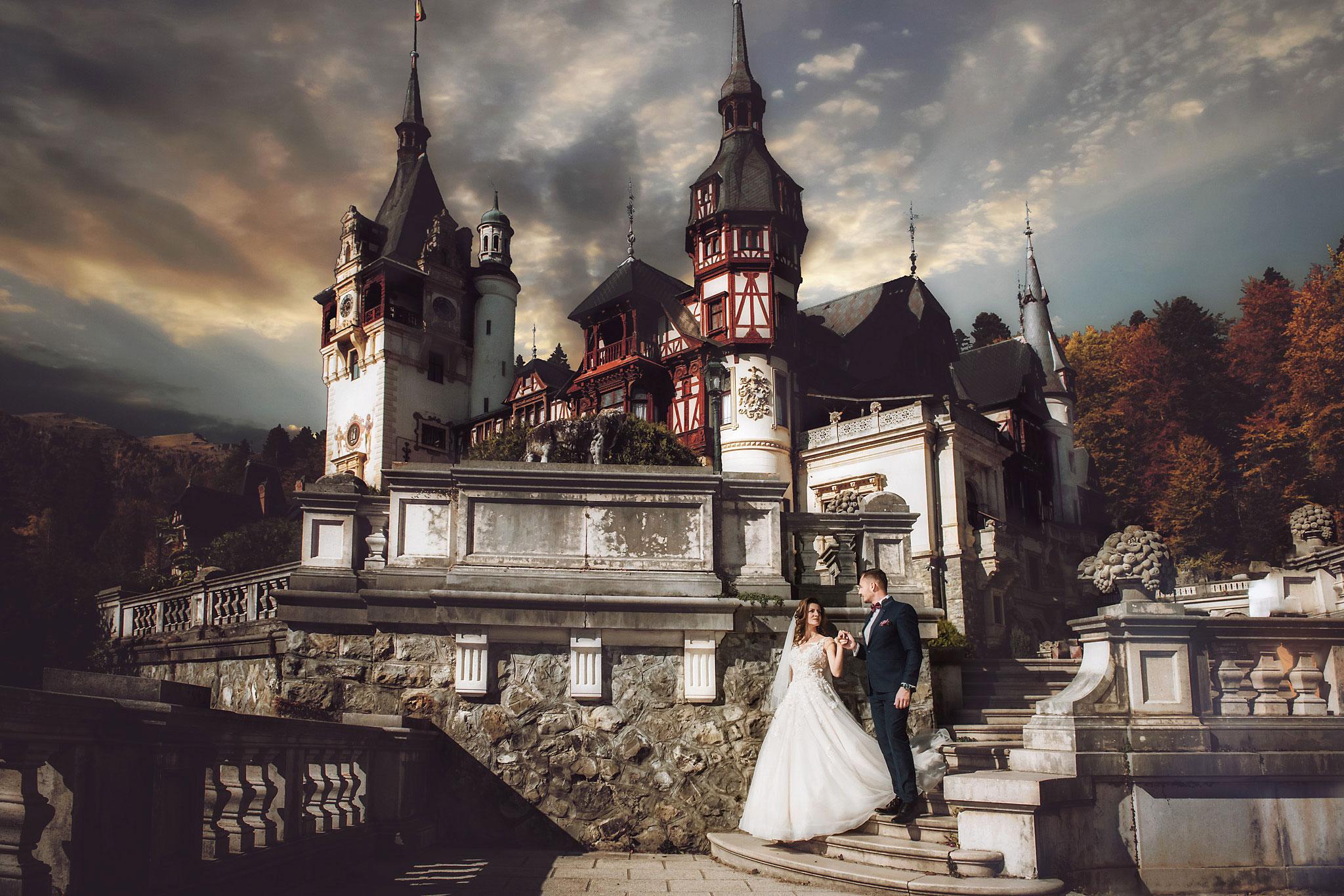 sedinta foto la castelul peles